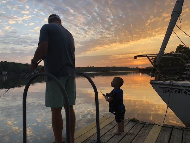 way too early morning fishing